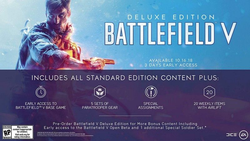 Battlefield Hype Week is back! Stream for your chance to win a year of ORIGIN Access Premier, Battlefield V Deluxe Edition on PC, and more