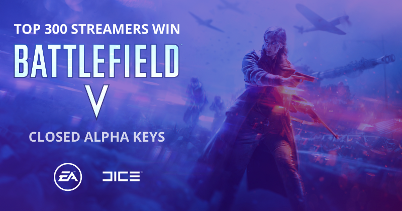 Hype Week details revealed! Stream to win a Battlefield V closed alpha key
