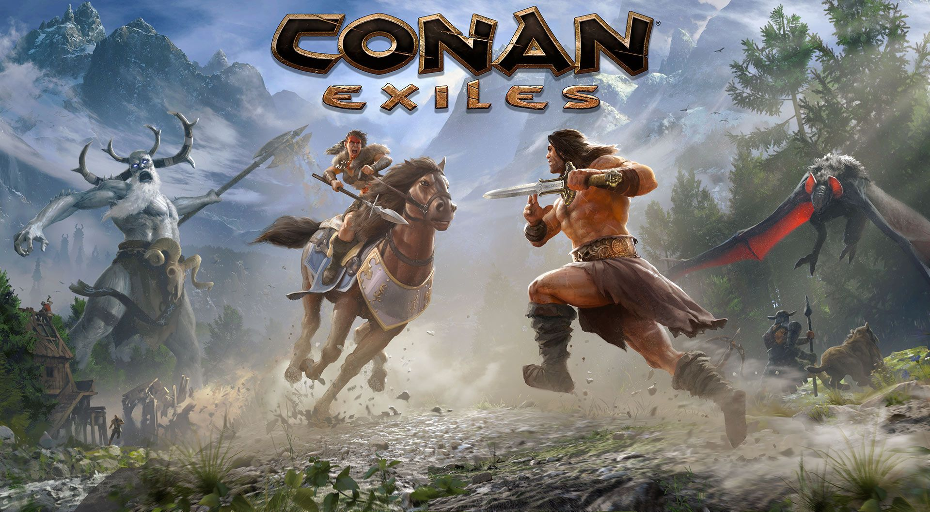 Our Latest Featured Hub is Conan Exiles!
