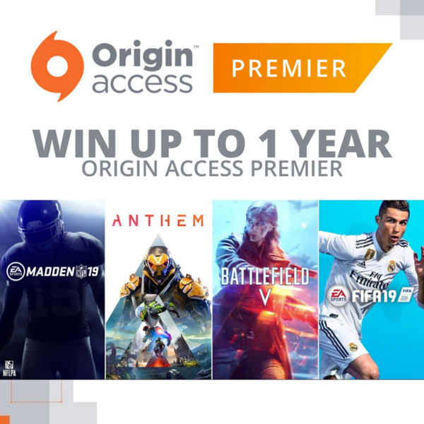 It's Battlefield V time! Stream for your chance to win Origin Access codes (for PC)!